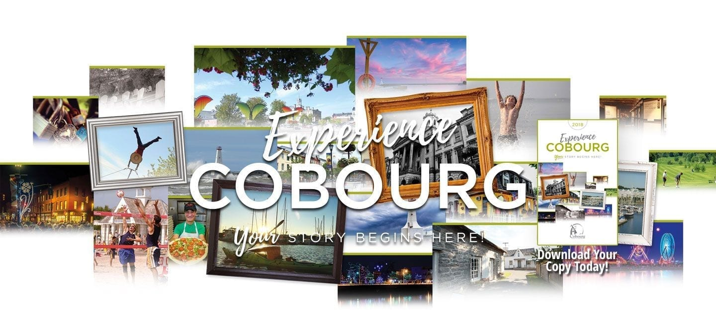 Experience Cobourg - Your Story Begins Here - Download Your Copy Today