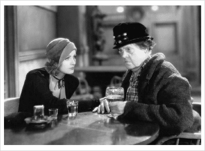 Greta Garbo & Marie Dressler In Ann Christie