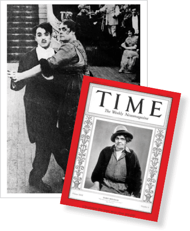 Marie Dressler & Charlie Chaplin - Marie Dressler on the cover of Time Magazine