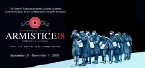 The Town of Cobourg presents Canada's Largest Commemoration of the Centennial of the WWI Armistice